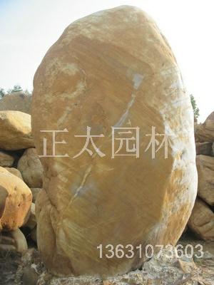 黄蜡石驳岸石黄蜡石假山石黄蜡石风景石